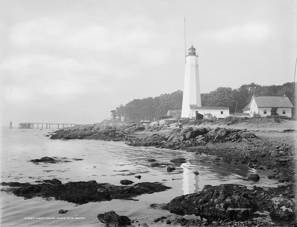 Five Mile Point (Old New Haven) Lighthouse, Connecticut at ...