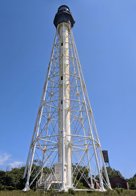 cape charles lighthouse  virginia at lighthousefriends com