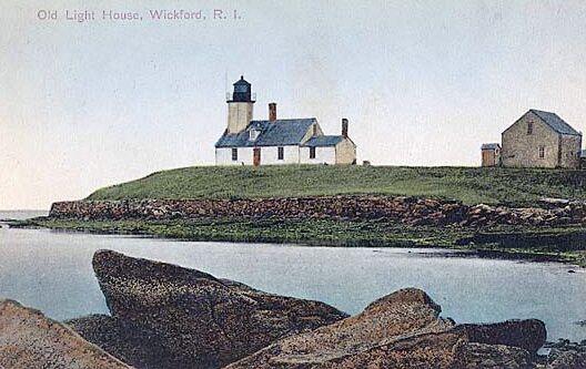 poplar point lighthouse  rhode island at lighthousefriends com