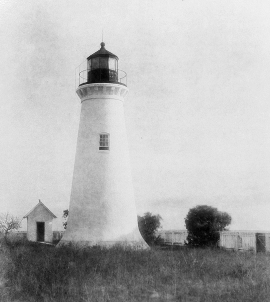 Round Island Lighthouse, Mississippi At Lighthousefriends.com
