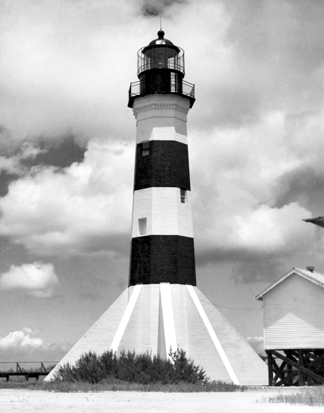 Sabine Pass Lighthouse Louisiana At Lighthousefriends Com