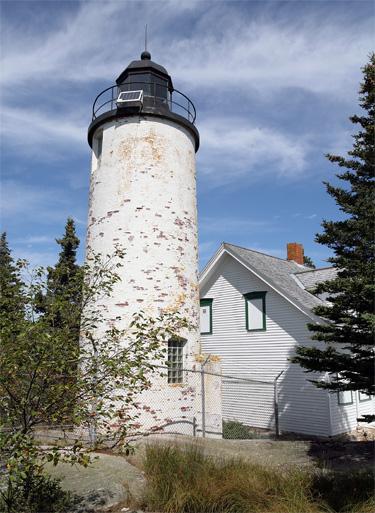Baker Island Lighthouse, Maine At Lighthousefriends.com