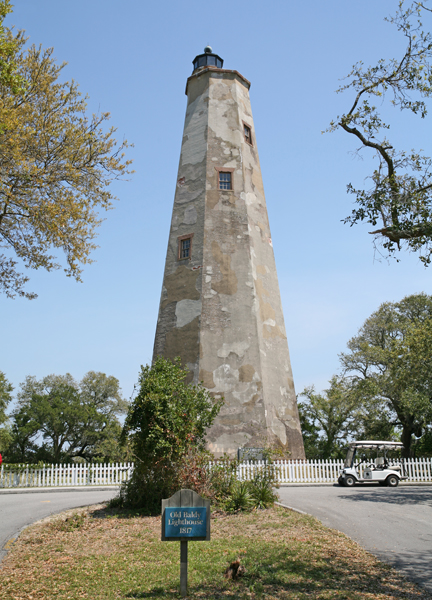 Bald Head Lighthouse North Carolina At Lighthousefriends Com