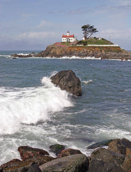 Battery Point Crescent City Lighthouse California At