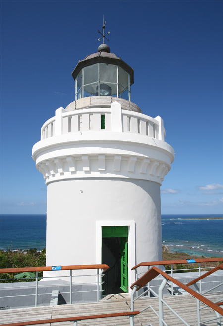 cabo san juan  fajardo  lighthouse  puerto rico at