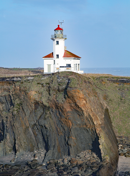 cape arago lighthouse  oregon at lighthousefriends com