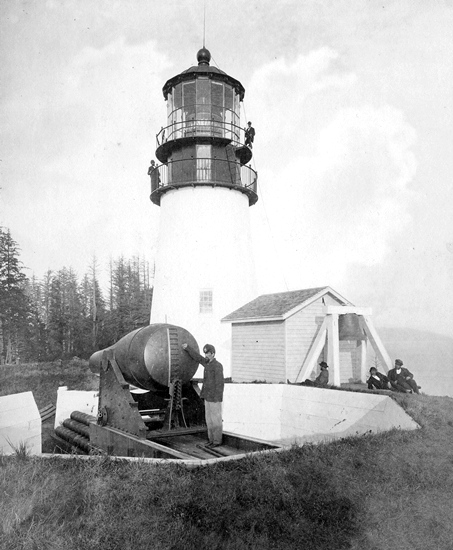 Cape Disappointment Lighthouse Washington At
