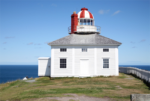 Cape Spear  Old  Lighthouse  Newfoundland Canada At