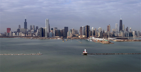 How Many Miles Between >> Chicago Harbor Lighthouse, Illinois at Lighthousefriends.com