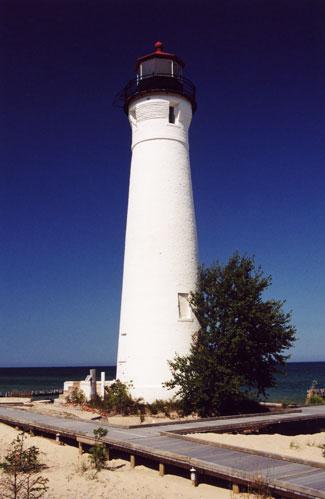 Close The Door >> Crisp Point Lighthouse, Michigan at Lighthousefriends.com