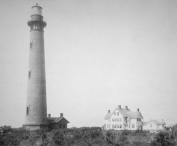 Currituck Beach Lighthouse In 1893