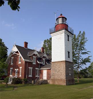 Dunkirk Lighthouse, New York at Lighthousefriends.com