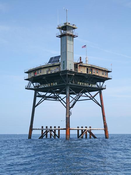 Frying Pan Shoals Lighthouse North Carolina At