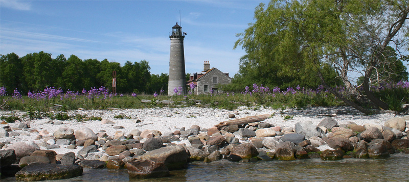 galloo island lighthouse  new york at lighthousefriends com
