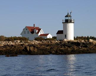 Goat Island Lighthouse, Maine Stickers   Zazzle  Goat Island Lighthouse