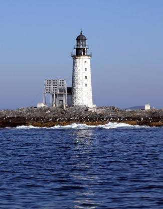 Halfway rock lighthouse maine at lighthousefriends photo gallery sciox Choice Image