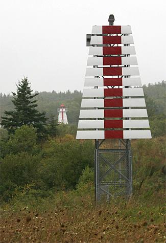 Havre Boucher Range Front Lighthouse Nova Scotia Canada
