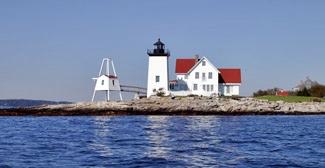 Hendricks Head Lighthouse Maine At Lighthousefriends Com