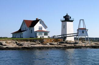 Photographer publishes stunning book of lighthouses at ...  Hendricks Head Light