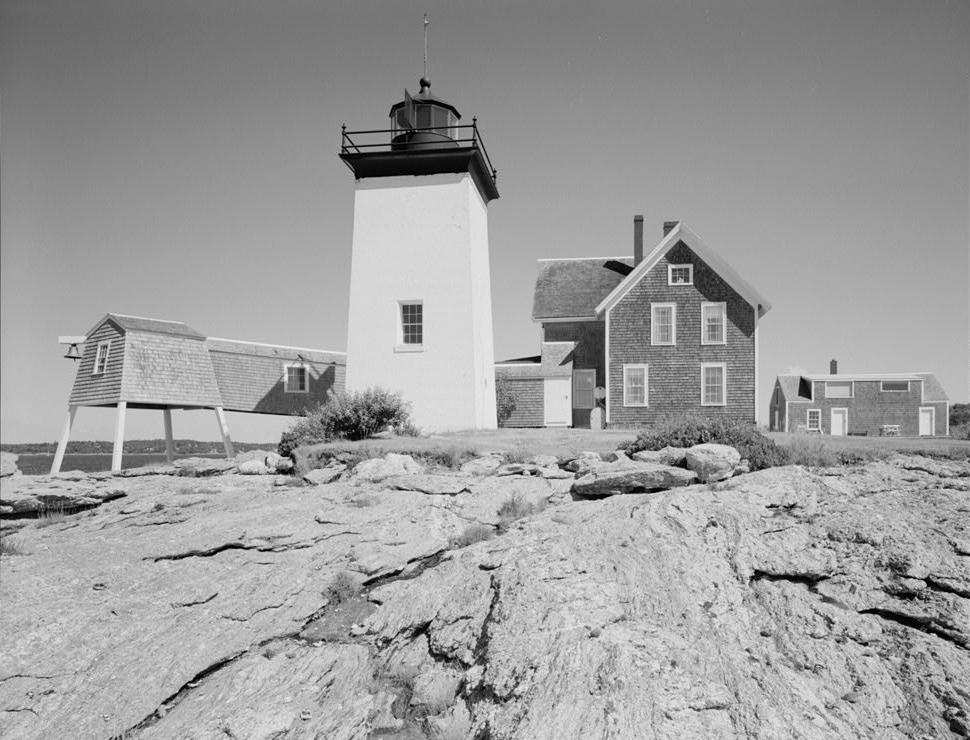Hendricks Head Light. Photograph by New England Photography  Hendricks Head Light