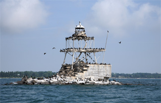 Horseshoe Reef Lighthouse New York At Lighthousefriendscom