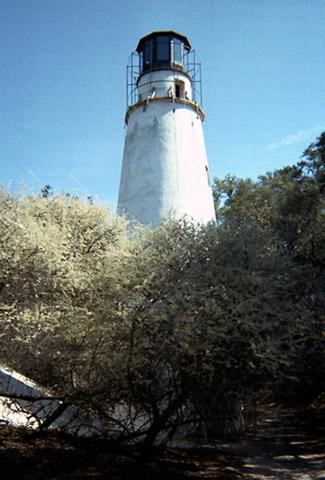 Map Of North Georgia >> Little Cumberland Island Lighthouse, Georgia at Lighthousefriends.com