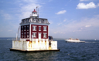 New London Ledge Lighthouse Connecticut At