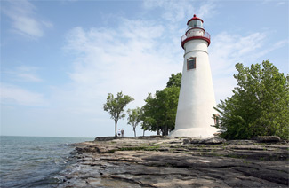 Marblehead Lighthouse Ohio At Lighthousefriends Com