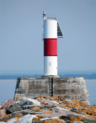 Marquette Breakwater Lighthouse Michigan At