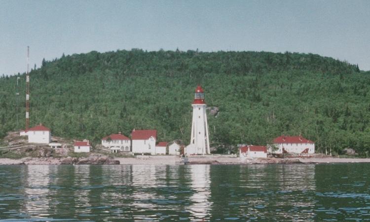 Michipicoten Island East End Lighthouse, Ontario Canada at ...