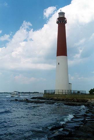 Barnegat Lighthouse, New Jersey at Lighthousefriends.com