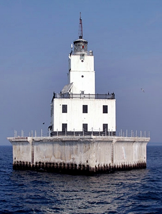 North Manitou Shoal Lighthouse Michigan At