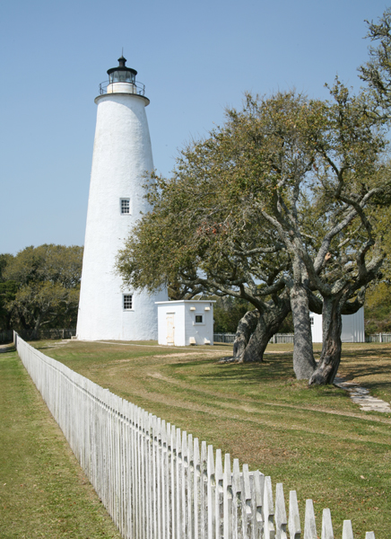 ocracoke lighthouse north carolina at lighthousefriends com