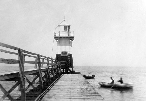 Olcott Lighthouse In 1885