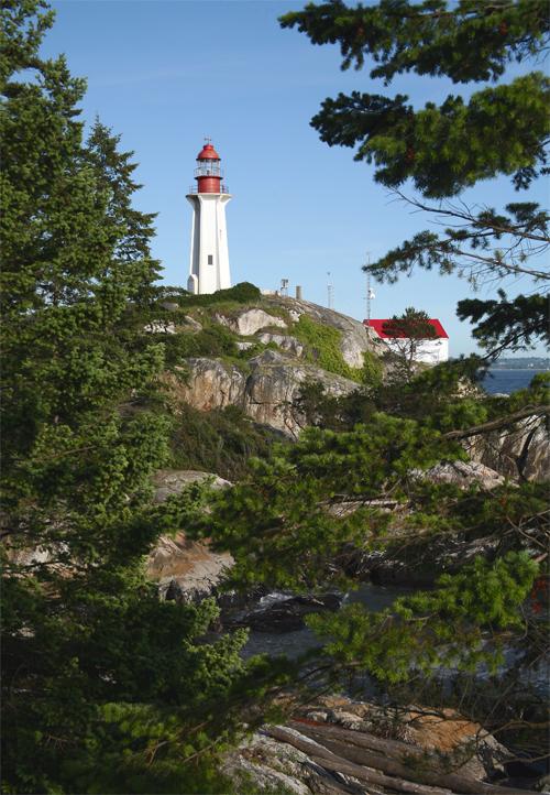 Point Atkinson Lighthouse British Columbia Canada At