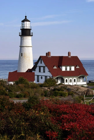 Lighthouse Maine Famous Small House Interior Design