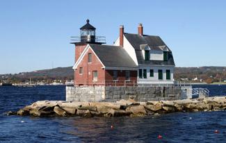 Rockland Breakwater Lighthouse Maine At Lighthousefriends Com