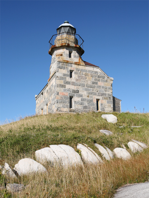 Rose Blanche Lighthouse Newfoundland Canada At