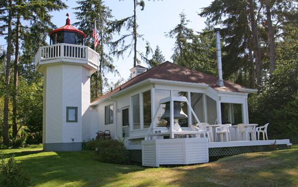 Skunk Bay Lighthouse Washington At Lighthousefriends Com