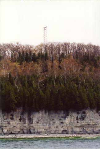 Boyer Bluff Lighthouse Wisconsin At Lighthousefriends Com